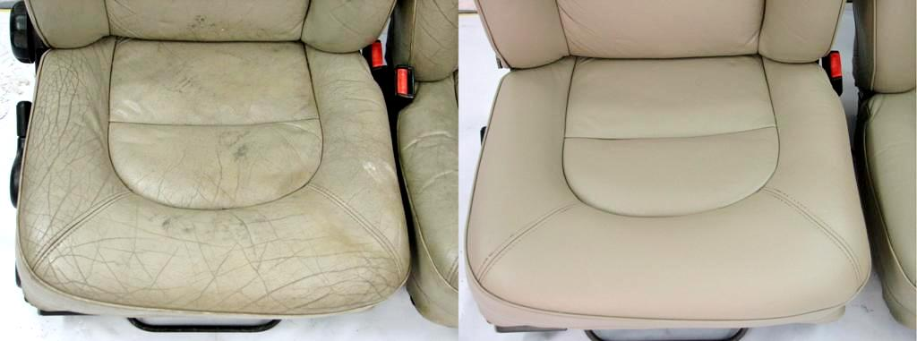Ремонт и восстановление кожаных сидений автомобиля